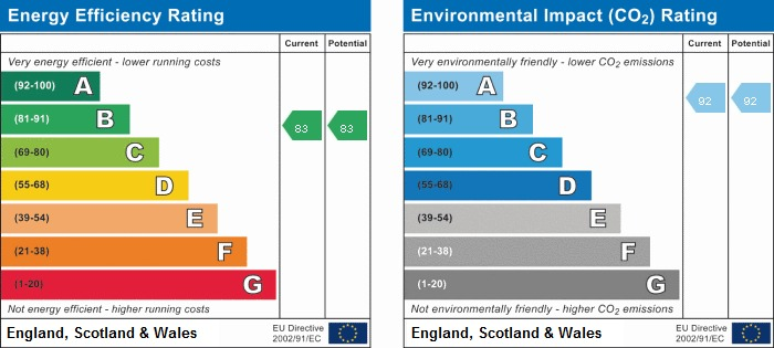 EPC rating for Copenhagen court, Pell Street, SE8: