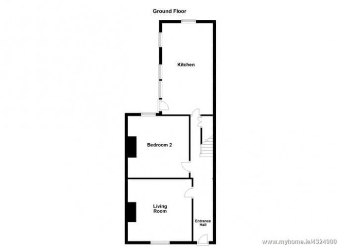 Floorplan for 3 Sarsfield Street, Phibsboro, Dublin 7