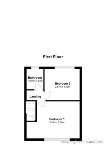 Floorplan for 111 Rutland Avenue, Dublin 12, Dublin