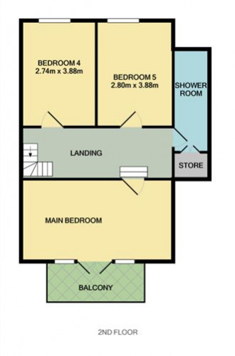 Floorplan for Galleen, Marino Avenue East, Killiney, Dublin South County