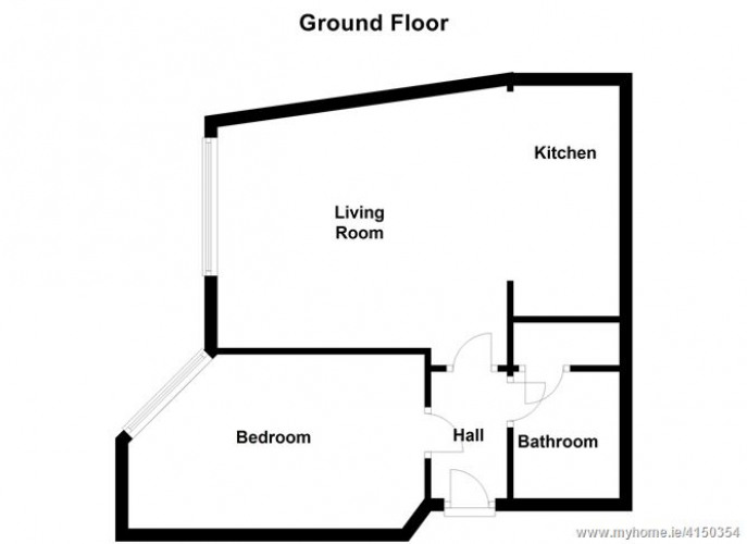 Floorplan for 12 Auburn House, Rathmines Park, Rathmines, Dublin 6