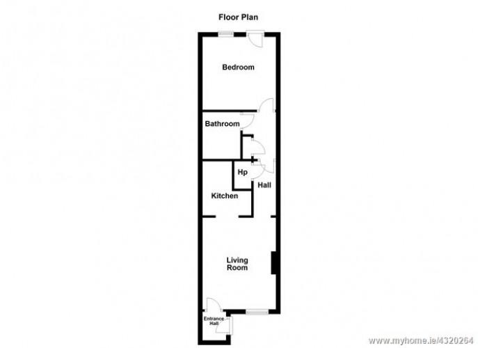 Floorplan for 17 Holywell Drive, Swords, Dublin North County