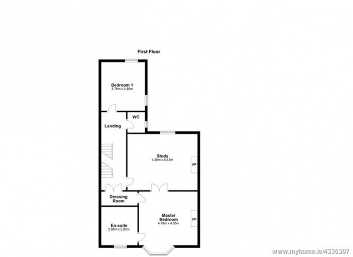 Floorplan for Villa Maria, St Marys Road, Ballsbridge, Dublin 4