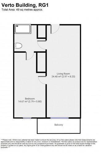 Floorplan for Verto, RG1