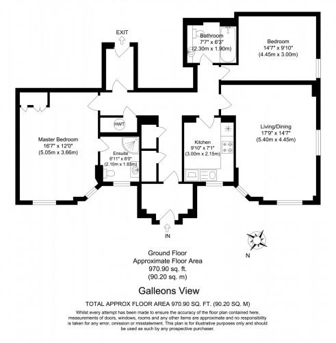 Floorplan for Galleons View, Stewart Street, London, E14