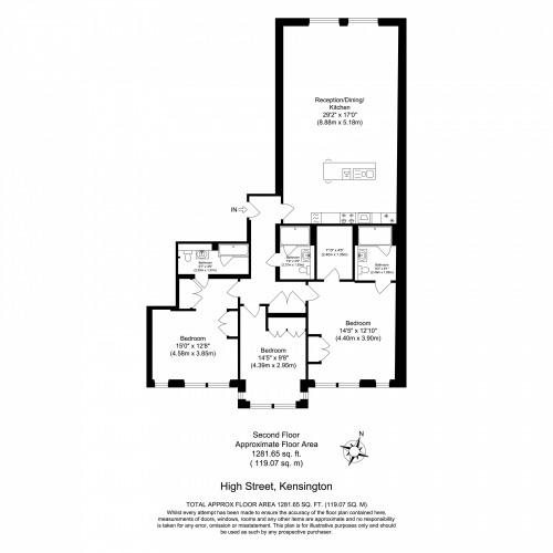 Floorplan for 151-161 Kensington High Street, London, W8
