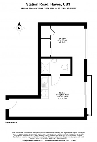 Floorplan for Trident House, Station Road, London, UB3