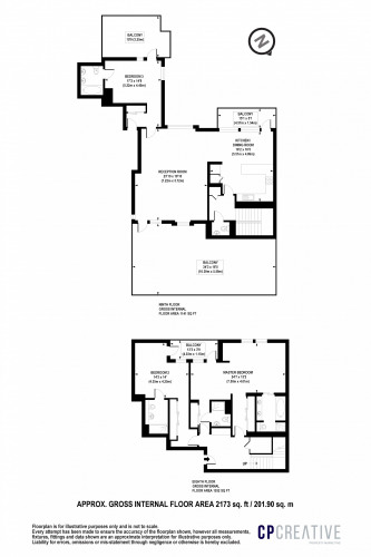 Floorplan for Parkview, NW1