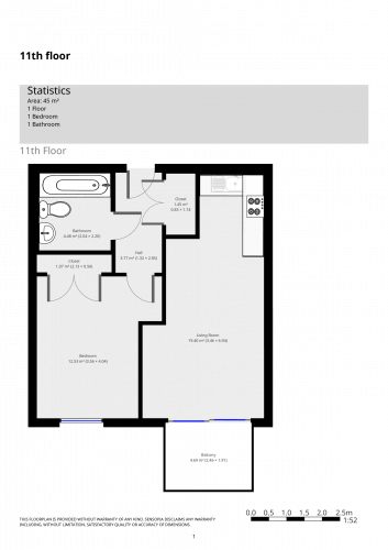Floorplan for , Booth Road, E16