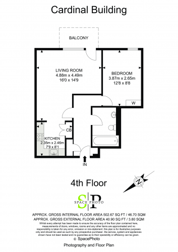 Floorplan for Cardinal Building, UB3