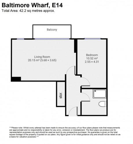 Floorplan for Apt. , E14